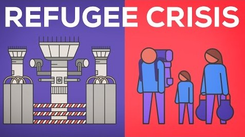 Video ilustra a crise dos refugiados na Europa