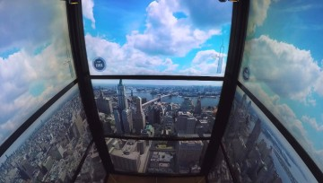 O Elevador do novo World Trade Center faz-te viajar no tempo!