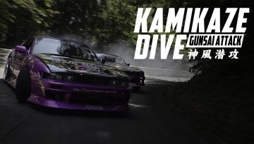 Drift nas curvas mais perigosas do Japão