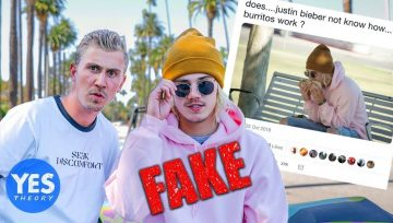 Justin Bieber, Burritos e Fake News